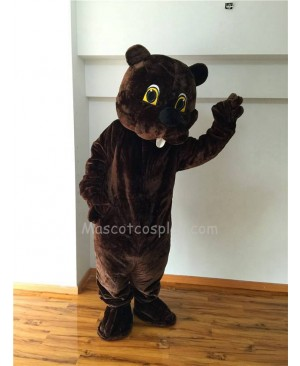 Cute New Woodchuck Mascot Costume
