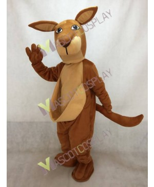KangaRoo Mascot Costume with Tail