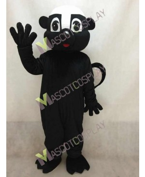 Black Stinky Skunk Mascot Costume