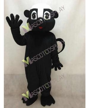 Black Stinky Skunk Mascot Costume