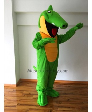 Cute Crunch Gator Mascot Costume
