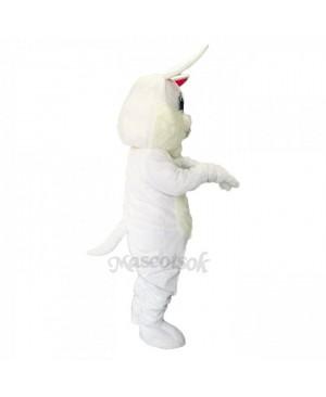 New Easter White Rabbit Long Ears Mascot Costume