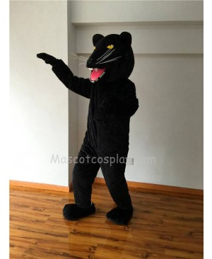 Cute New Black Panther with Yellow Eyes Mascot Costume