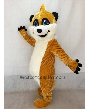 High Quality Cute Realistic Animal Meerkat Mascot Costume
