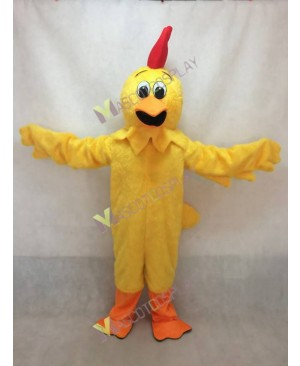 Hot Sale Yellow Chicken Yodel Mascot Costume