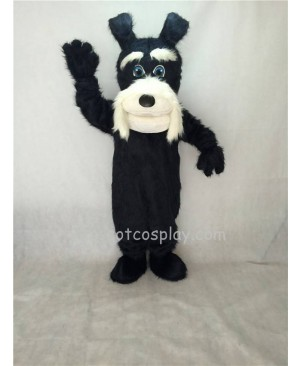 Cute New Black Terrier Dog Plush Mascot Costume