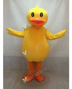 High Quality Duck Yellow Ducky Adult Party Carnival Halloween Christmas Mascot Costume