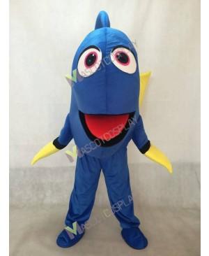 Finding Dory Nemo Blue Fish Mascot Costume Cartoon Character Halloween