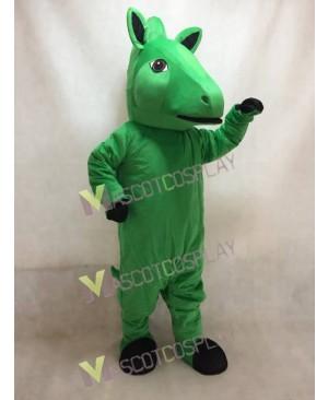Custom Color Green Horse Mascot Costume
