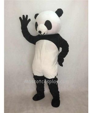 Cute Lovely Black And White Panda Plush Adult Funny Mascot Costume