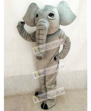 Cute Realistic Elephant Mascot Costume