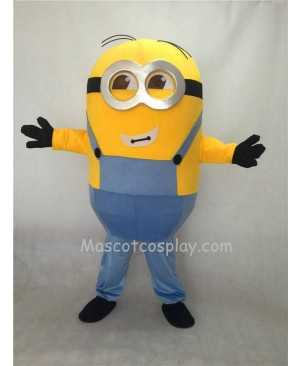 Cute Despicable Me Minions Two Eyes Mascot Costume