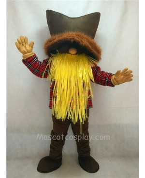 High Quality New Miner Mascot Costume with a Brown Hat