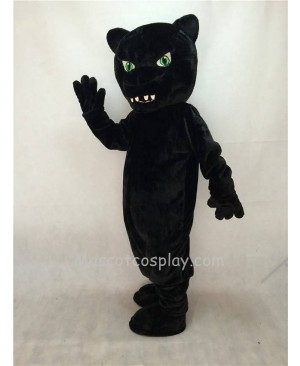 Fierce New Green Eyes Panther Mascot Costume