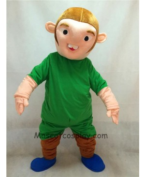 High Quality Adult Notre Dame de Paris Quasimodo Strange Man In Green Clothes Mascot Costume