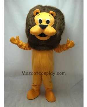 Cute New King Lion Mascot Costume