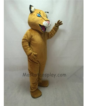 Fierce Adult Puma/Cougar Mascot Costume