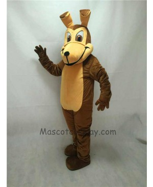 Fierce New Coyote Wolf Mascot Costume