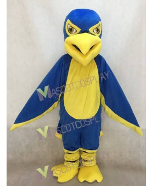 Hot Sale Adorable Realistic New Royal Blue and Yellow Hawk / Falcon Mascot Costume