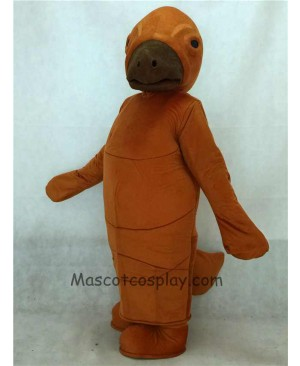 High Quality Adult Brown Manny Manatee Mascot Costume
