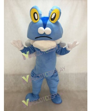 Blue Frog Froakie Pokemon Pokémon GO Pocket Monster Mascot Costume