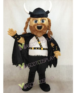 New Viking Mascot Costume with A Cloak
