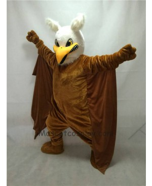 Fierce New Brown Griffin Mascot Costume
