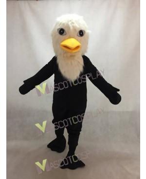 Yellow Beak Bald Eagle Mascot Costume