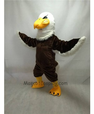 Fierce Brown Mr. Majestic Eagle Mascot Costume