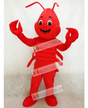 Realistic Animal Red Lobster Mascot Costume