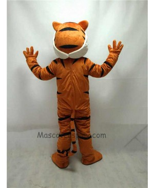 Fierce New Bengal Tiger Mascot Costume