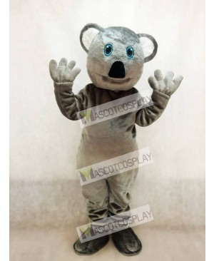 New Grey Koala Bear Mascot Costume