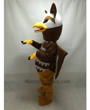 Fierce Brown Griffin Mascot Costume