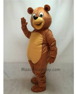 Cute New Honey Bear Mascot Costume