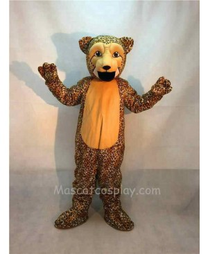 Fierce Cheetah Leopard Mascot Costume