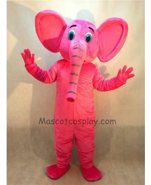 Cute New Pink Elephant Mascot Costume