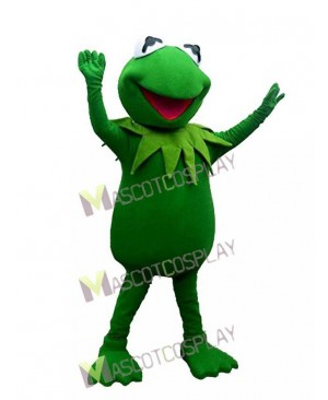 Kermit the Frog Green Frog Mascot Costume