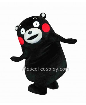 Kumamon Bear Mascot Character Costume Fancy Dress Outfit