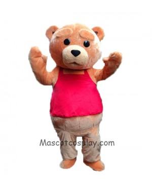 High Quality New Ted Costume Teddy Bear Mascot Costume
