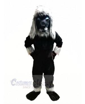 Black Poodle Dog Mascot Costumes Adult