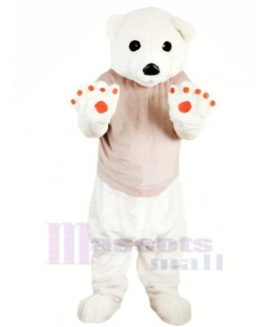 Hot Sale Polar Bear Mascot Costumes Cartoon