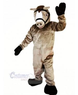 Professional Grey Horse Mascot Costumes Cartoon