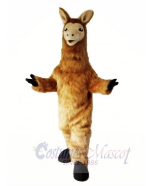 Lama Mascot Costume Animal Sheep Costume Fancy Dress