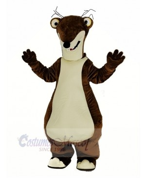 Ice Age Dawn of the Dinosaurs Sloth Sidney Mascot Costume Cartoon