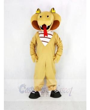 Realistic Cobra Snake Mascot Costume College