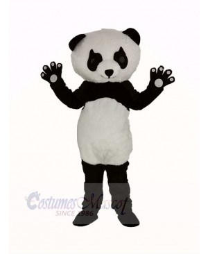 Panda with Long Eyelashes Mascot Costume