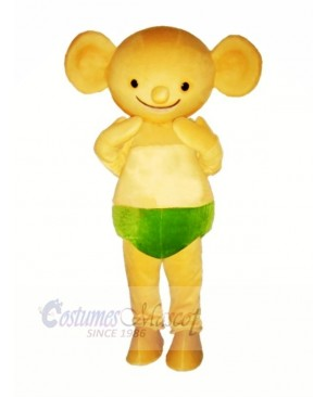 Yellow Baby Koala Mascot Costumes Cartoon