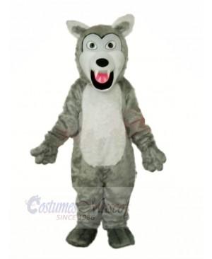 Little Gray Wolf Mascot Costumes Cartoon