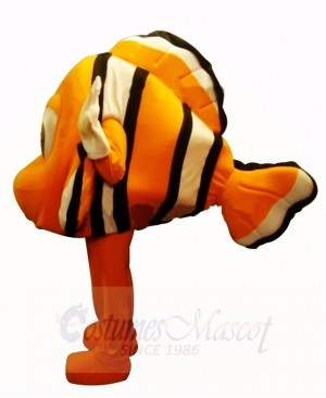 Cute Orange Clownfish Mascot Costumes Cartoon