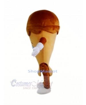 Coffee Ice Cream Mascot Costume Cartoon